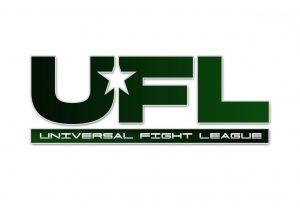 universal fight league logo