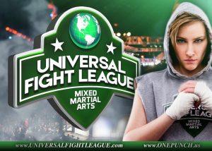 Universal Fight League sponsors logos
