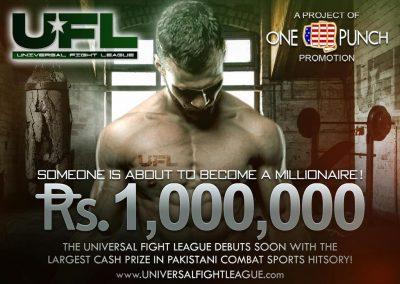 universal fight league cash prize in pakistan