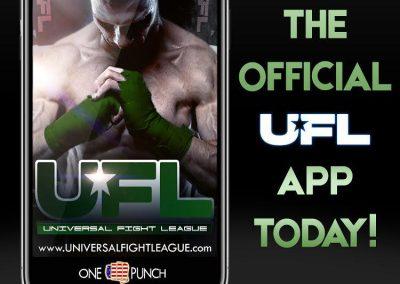 universal fight league app