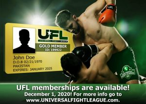 universal fight league membership are available