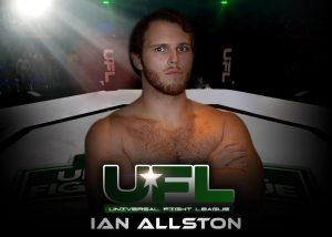 ian allstaon universal fight league fighter