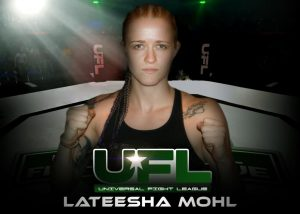 lateesha mohl universal fight league fighter
