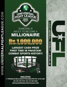 Universal Fight League prize