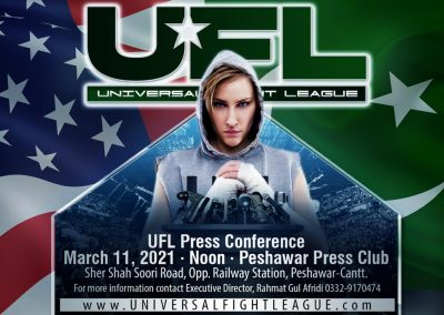 ufl press conference in peshawar