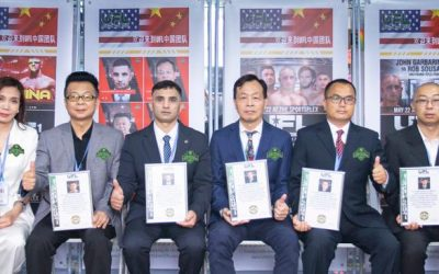 MOU Signing Ceremony of Universal Fight League with Chinese Strategic Partner