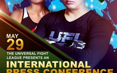 UFL International Press Conference on May 29, 2021