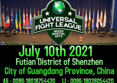 international universal fight league conference