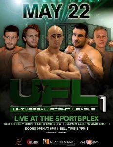 universal fight elague live at the sportsplex