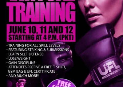universal fight league training