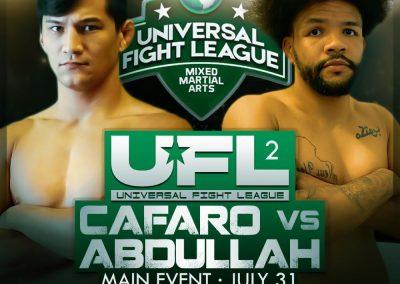 CAFARO VS ABDULLAH UFL2