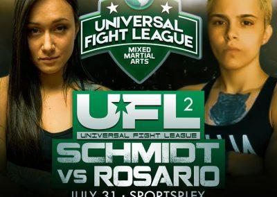 SCHMIDT VS ROSARIO IN UFL2
